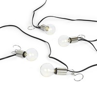Patio Umbrella Globe LED String Lights