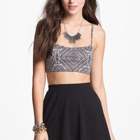 Painted Threads Cutout Bralette (Juniors) (Online Exclusive)   Nordstrom