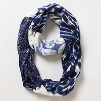 Anthropologie - Lacy Patchwork Infinity Scarf