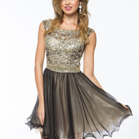Beads and Sequin Bodice Homecoming Dresses from Sung Boutique Los Angeles, Category Homecoming Dresses