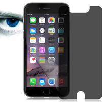 Privacy Screen Protector with Oil-Resistant Coating for iPhone 6 Plus