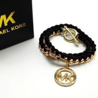 LMFUP0 MK Woman Fashion Chain Plated Bracelet Jewelry