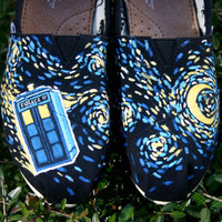 Dr. Who Rocks Starry Night. I supply the Tom. Contact me if you want a Van or other shoe type.