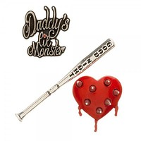 Suicide Squad Harley Quinn Lapel Pin Set