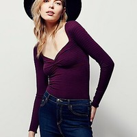 Free People Womens Sugar and Spice Tee