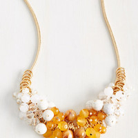 Cluster Up the Courage Necklace