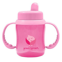 Green Sprouts Sippy Cup Flip Top Pink (1 Count)