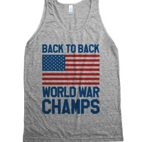 Back To Back World War Champs Tank Top (Id6082025) |