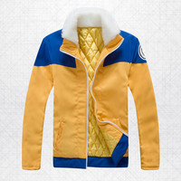 HOT New Naruto Sweater Thicken Men's and Women's Clothes Cotton-Padded Jacket Coat Cosplay Costumes Free Shipping