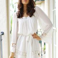 SABO SKIRT Ivory Dawn Dress - (No Colour Specified) - 62.0000