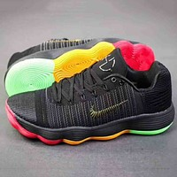 NIKE HYPERDUNK LOW 2017 Men Trending Casual Running Sports Sneakers Shoes Black  G-A-YYMY-XY
