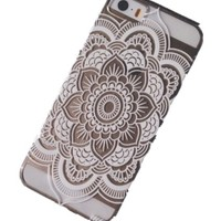 Acefast INC Plastic Case Cover for Iphone 5 5s 5c Henna Full Mandala Floral Dream Catcher (For iPhone 5C)