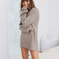 Aerie Boucle Oversized Sweater, Oatmeal