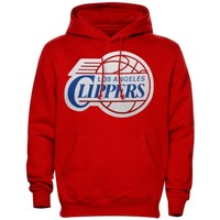 Majestic Chris Paul Los Angeles Clippers Name & Number Pullover Hoodie - Red