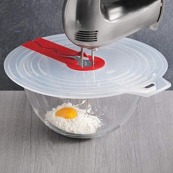 Bowl Whisks Screen Cover Splash Guard Bowl Lids