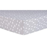 Mountains Fitted Crib Sheet