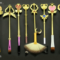8 pc Sailor Moon brush set