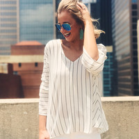 Cocktail Hour Blouse - Ivory