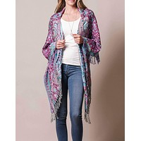 3-in-1 Jaipur Wrap - Orchid