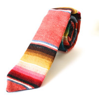 Wool And Denim Necktie Handmade by Lord Wallington / Gifts For Him / Gifts For Men / Fathers Day Gifts For Men / Men's Ties / Neckties