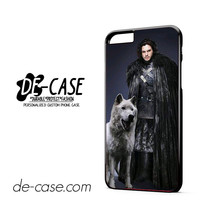 Game Of Thrones Snow And His Wolf DEAL-4580 Apple Phonecase Cover For Iphone 6/ 6S Plus