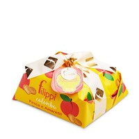 Filippi Colomba Cake Peaches and Amaretti with Soft Peaches and Cookie Pieces 35.27 oz (1kg)