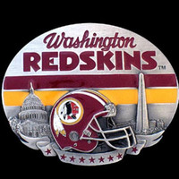 Washington Redskins NFL Enameled Belt Buckle