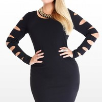 Plus Size Cutout Bodycon Dress | Fashion To Figure