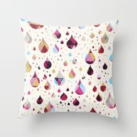 happy thoughts Throw Pillow by spinL