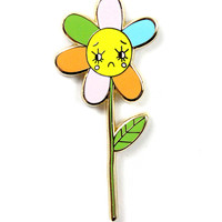 Sad Daisy Pin