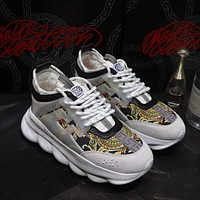 Versace Chain Reaction Sneakers #dsr110