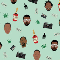 Rapping Paper - Hip hop wrapping paper - Snoop Dogg - Kendrick Lamar - Kanye West - Jay Z - Hip hop - Gift Wrap