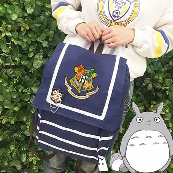 Harry Potter Canvas Backpack
