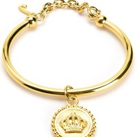 Status Coin Bangle by Juicy Couture