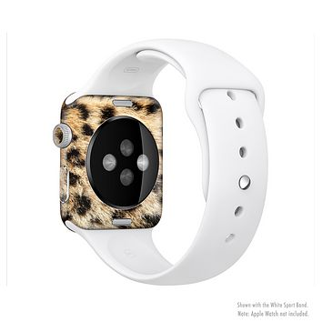 The Real Cheetah Animal Print Full-Body Skin Set for the Apple Watch