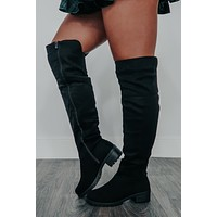 Happy Trails Boots: Black