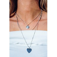 In My Heart Necklace: Silver