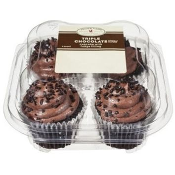 Archer Farms Chocolate Cupcakes 4 ct