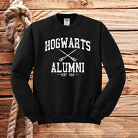 Hogwarts Alumni harry potter sweater unisex adults