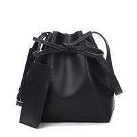 Leather One Shoulder Cross-Body Handbags