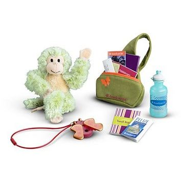 """""""Jess's Travel Accessories"""" for 18"""" American Girl doll"""
