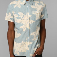Urban Outfitters - Charles & 1/2 Washed-Out Floral Button-Down Shirt
