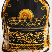 Beyond Retro Emma Mini Scarf Backpack   Urban Outfitters