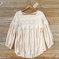 Aspen Gypsy Top in Sand