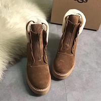 UGG Women Casual Low Heeled Shoes Boots