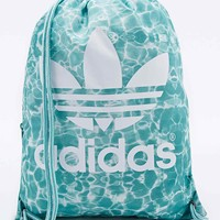 Adidas Pool Print Gym Bag in Green - Urban Outfitters