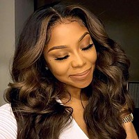 New fashion ladies wigs fluffy long curly hair wigs