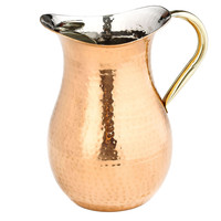 Hammered Water Pitcher, Pitchers & Carafes