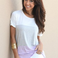 Time For This Top in Lavender | Monday Dress