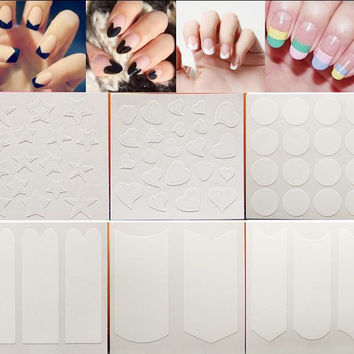 Nails Sticker Tip Guides